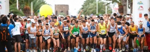 Start zum Lanzarote-Marathon