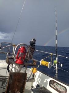 Regenbogen - das ist die schöne Seite eines Regenschauers.