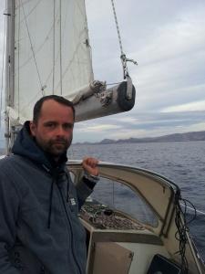 Lutz aus Chemnitz segelt mit - von Vilamoura zu den kanarischen Inseln.